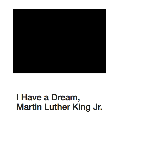 "MLK ""I have a dream"""